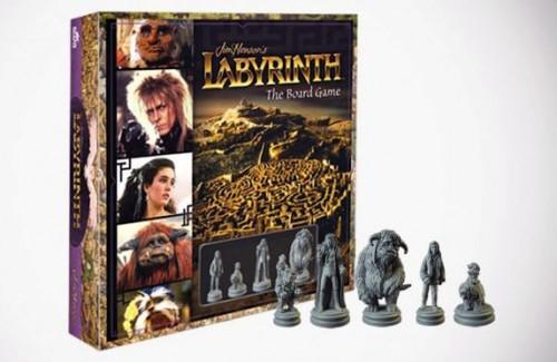 image boîte jeu de société jim henson's labyrinth the boarding game