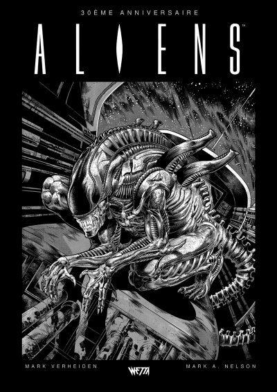 """Aliens, la série originale : 30e anniversaire de M. Verheiden & M. A. Nelson (Wetta-Sunnyside) En cette fin d'année, on met dans notre hotte cette superbe réédition du comics de Mark Verheuden et Mark A. Nelson par Wetta-Sunnyside, paru pour la première fois aux Etats-Unis en 1988. Cette suite atypique d'""""Aliens le retour"""", où Ripley est plus ou moins absente, s'intéresse aux origines du xénomorphe bien avant """"Prometheus """"et va là où on ne l'attend pas. A découvrir ou redécouvrir ! Prix conseillé : 39,95€. Critique complète en suivant le lien ci-dessus."""