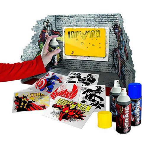 image jeu canal toys asmodee avengers graffart studio