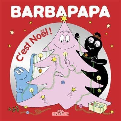 image couverture barbapapa c'est noel