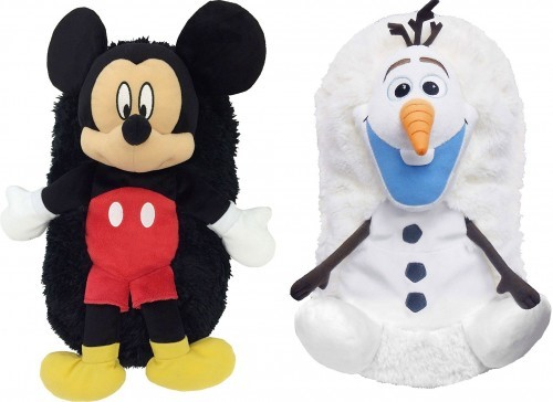 image peluches calipets disney mickey olaf dujardin