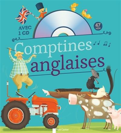[Critique] Comptines anglaises — Collectif, illustré par Madeleine Brunelet
