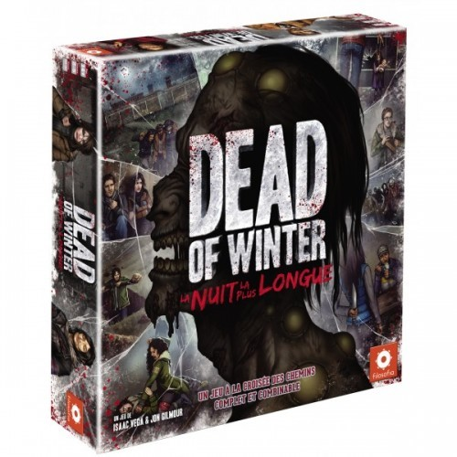 image boite jeu de société dead of winter la nuit la plus longue asmodée