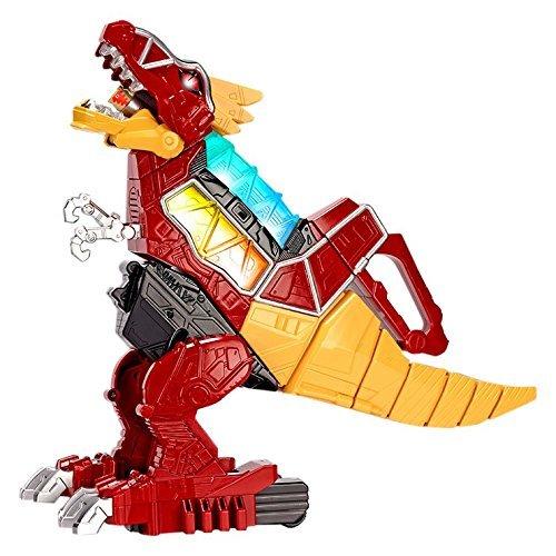 image jouet power rangers dx zord t-rex électronique bandai