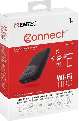 image disque dur wifi sans fil connect emtec
