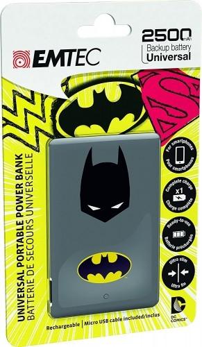 image batterie de secours power essentials batman emtec