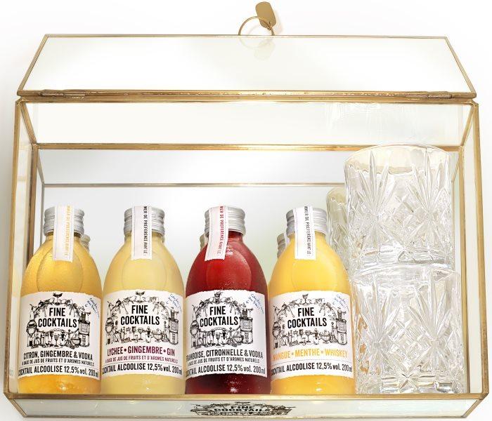[News – Food & Drink] Fine Cocktails : un coffret de Noël en édition limitée