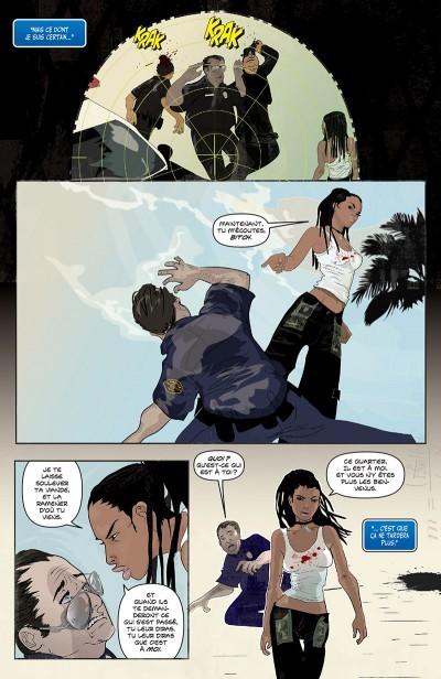 image planche 3 genius marc bernardin adam freeman afua richardson delcourt comics