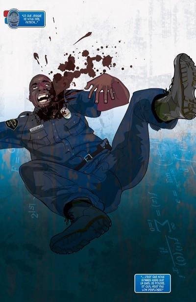 image planche 1 genius marc bernardin adam freeman afua richardson delcourt comics