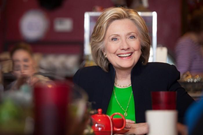 image hillary clinton en avril 2015