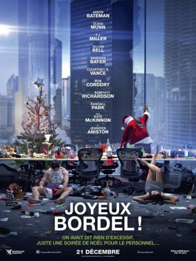 [News – Cinéma] Nouvelle bande annonce de «Joyeux Bordel!» de Will Speck et Josh Gordon, sortie le 21 Décembre.