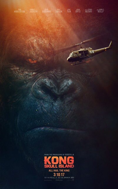 [News – Cinéma] Nouvelle bande-annonce  de «Kong: Skull Island» de  Jordan Vogt-Roberts, sortie le 8 Mars 2017