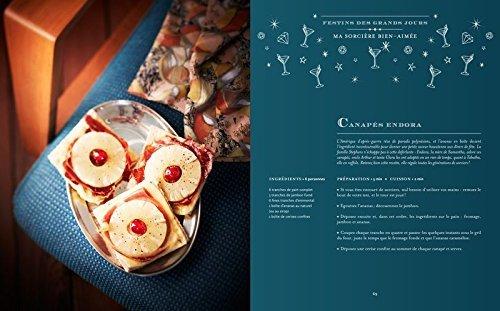image canapés endora la cuisine des sorciers éditions solar