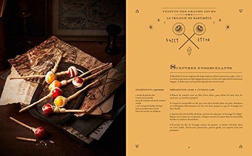 image sceptres ensorcelants la cuisine des sorciers éditions solar