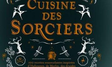 image gros plan couverture la cuisine des sorciers aurélia beaupommier éditions solar