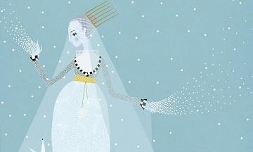 image gros plan la reine des neiges castor poche illustré charlotte gastaut
