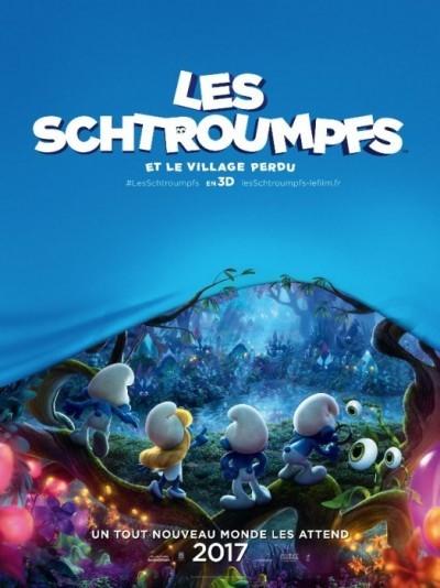 [News – Cinéma] Bande-annonce de «Les Schtroumpfs et le Village Perdu» de Kelly Asbury, sortie le 5 Avril 2017