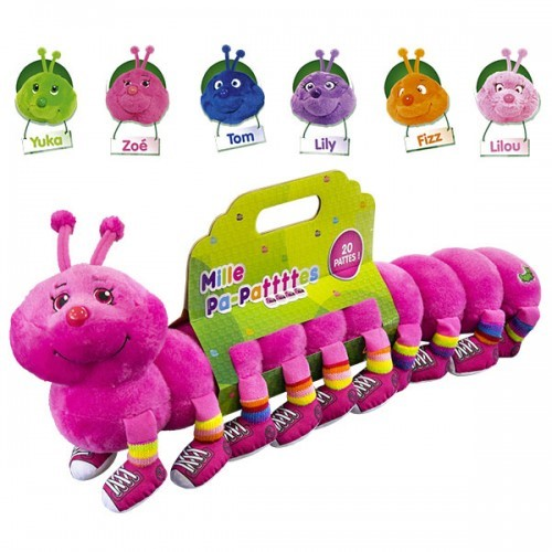image peluche mille pa-pattes lansay