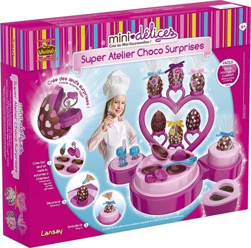 jeu mini-délices mon super atelier choco-surprise lansay
