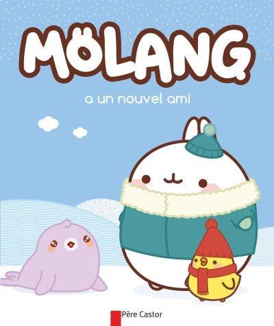 image molang a un nouvel ami