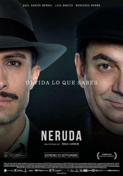 [News – Cinéma] Nouvelle bande-annonce de «Neruda» de Pablo Larraín, sortie le 4 Janvier 2017.