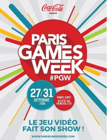image logo paris games week 2016