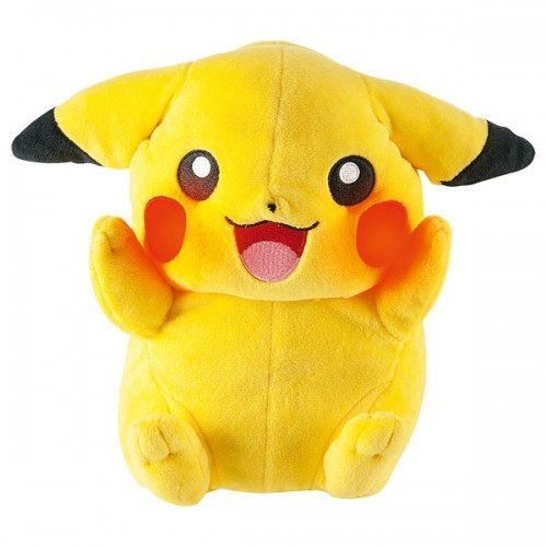 image mon ami pikachu pokemon peluche tomy