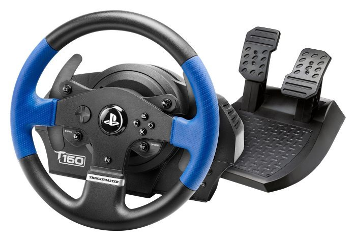 image t150 force feedback pedales thrustmaster