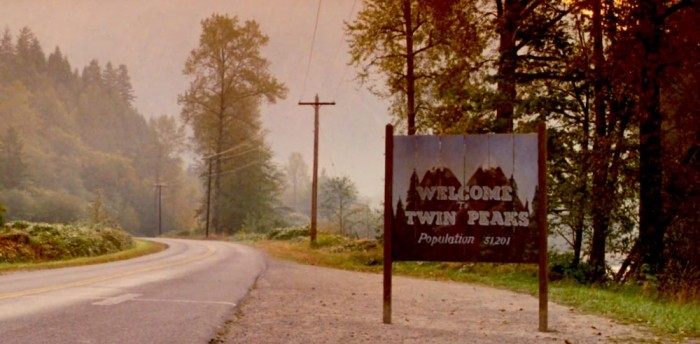 image pancarte twin peaks david lynch mark frost
