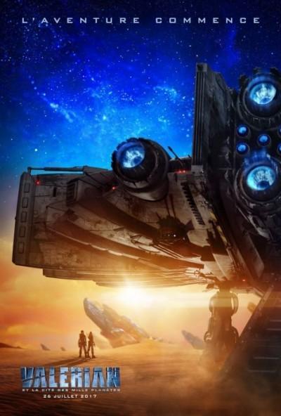 [News – Cinéma] Bande annonce de «Valérian et la Cité des mille Planètes» de Luc Besson, sortie le 26 juillet 2017.