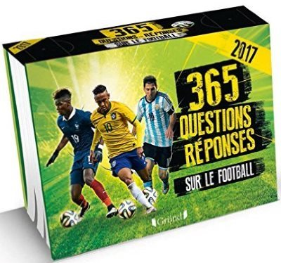 image 365 questions reponses sur le football