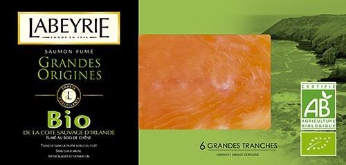 image tranches de saumon fumé bio labeyrie grandes origines irlande