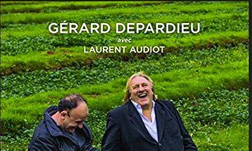 image gros plan couverture à pleines dents gérard depardieu laurent audiot éditions michel lafon