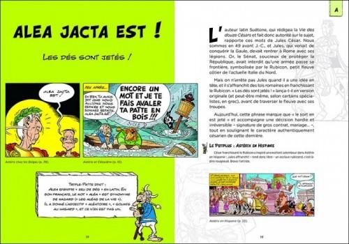 image alea jacta est astérix les citations latines expliquées bernard-pierre molin éditions du chêne