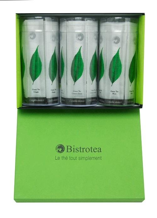 image coffret trio thés verts bistrotea