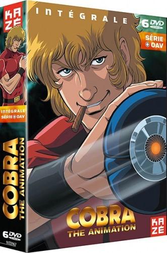 Coffret DVD Cobra, intégrale nouvelle série + OAV (Kazé Animation) Vous connaissez sans doute le dessin animé des années 80, mais saviez-vous qu'une nouvelle série avait vu le jour en 2008, adaptant la première partie du manga en couleur, édité en 1995, ainsi qu'une seconde histoire ? Cette intégrale regroupe les 6 OAV, accompagnés de nombreux bonus : interviews de Terasawa, le créateur de Cobra, et de l'équipe technique, making-of, etc. Prix conseillé : 46,99€
