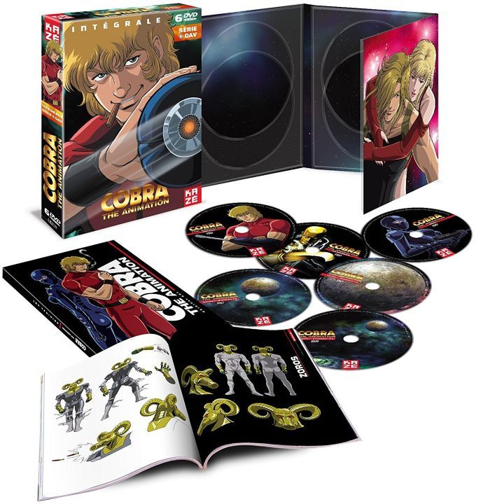 image coffret cobra the animation