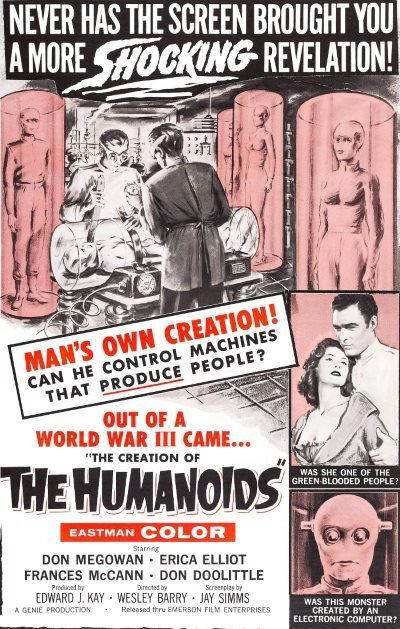 image affiche creation of the humanoids
