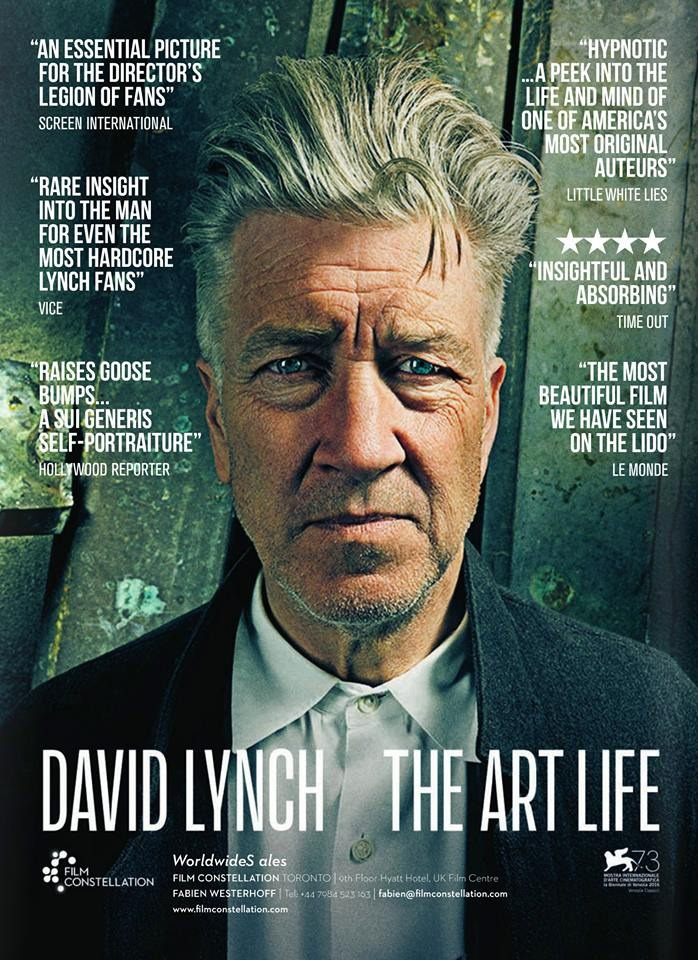 image affiche documentare david lynch the art life