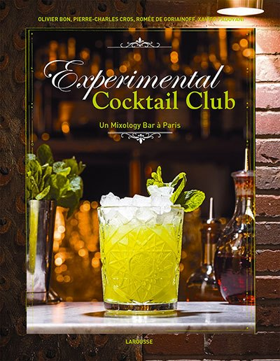 image couverture experimental cocktail club larousse