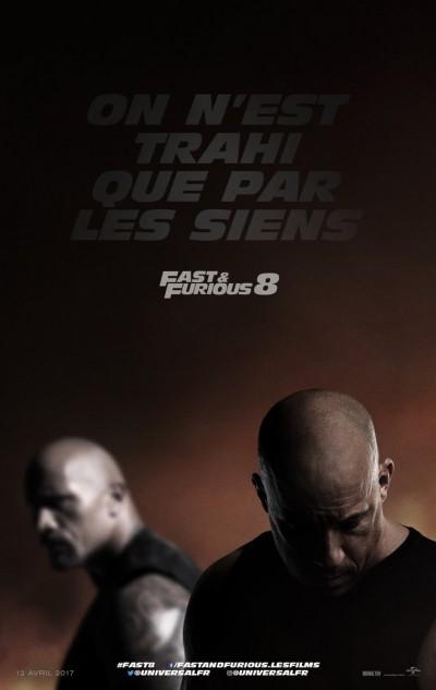 [News – Cinéma] Bande-annonce de «Fast and Furious 8» de F. Gary Gray, sortie le 12 Avril 2017.