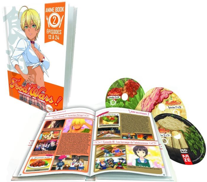 image coffret food wars saison 1 partie 2