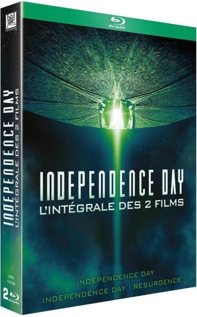 [Test – Blu-Ray] Independence Day – L'intégrale des 2 films
