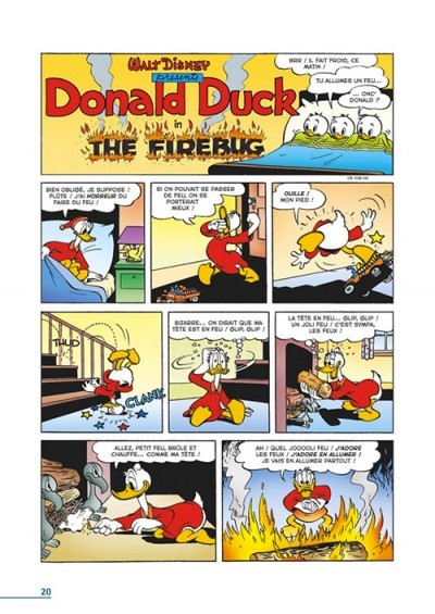image planche 1 la dynastie donald duck tome 21 1946-1947 carl barks glénat