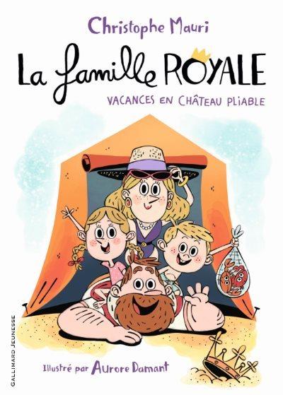 image la famille royale vacances en chateau pliable