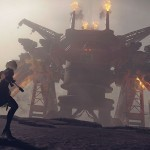 image jeu nier automata ps4 playstation 4 square enix