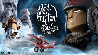 image logo red barton sky pirates