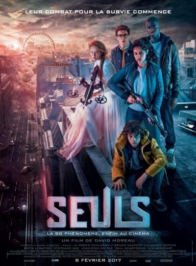 [News – Cinéma] Bande-annonce de «Seuls» de David Moreau, sortie le 8 Février 2017