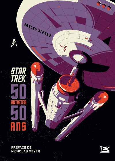 [Critique] Star Trek : 50 artistes, 50 ans – Collectif