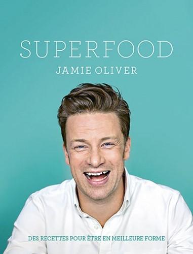 image couverture super food jamie oliver